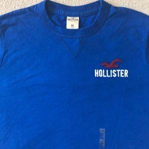 NEW Men's Hollister Blue T-Shirt Sz XL ~NWT~